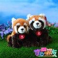 Alta calidad de simulación Panda rojo de peluche juguetes de peluche de juguete Animal suave pequeñas Panda muñecas juguetes para niños