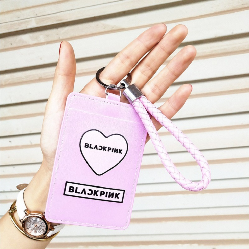 Practical Kpop Bts Love Yourself Answer Protable Card Holder For Id Bus Student Bank Card Bangtan Boys Badge Holder Case Beads & Jewelry Making Jewelry Findings & Components