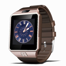 GEJIAN Bluetooth Smart Watch DZ09 With Camera Facebook Whatsapp Twitter Sync SMS Smartwatch Support SIM TF Card For IOS Android(China)