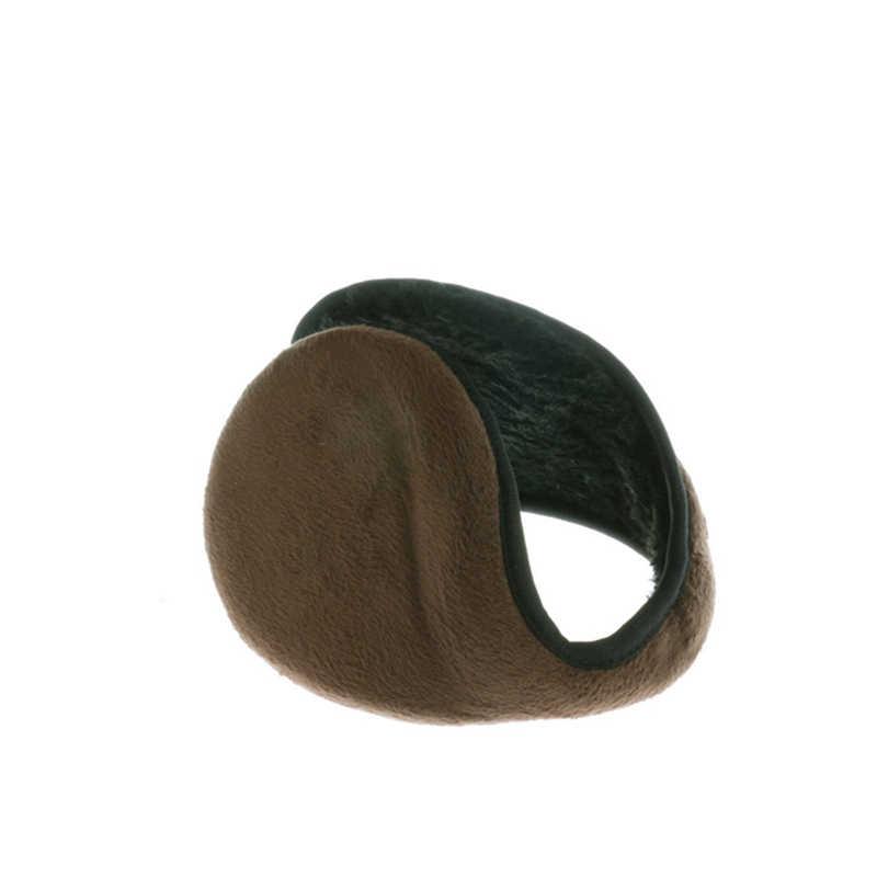 Heißer Verkauf Ohrenschützer Bekleidung Zubehör Unisex Ohrenschützer Winter Ohr Muff Wrap Band Ohr Wärmer Earlap Geschenk Schwarz/Kaffee/ grau/Navy Blau