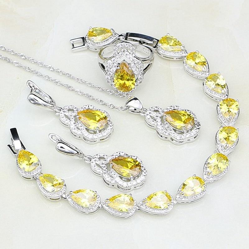 Anhänger-halsketten Bamos Luxus Rosa/weiß/gelb/lila Quadrat Zirkon Halskette 925 Silber Hochzeit Frauen Halsketten Arbeiten Liebhaber Geschenke