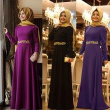 New Fashion Caftan Simple Burgundy Hijab Dubai Moroccan Kaftan Muslim Evening Dresses with Cloak Long Sleeve