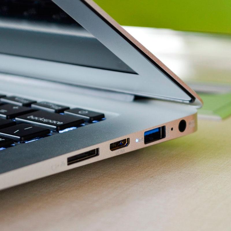 13.3 дюймов ноутбука Нетбуки Intel 5th Gen Core i5 5200u 8 ГБ Оперативная память 256 ГБ SSD, HDMI, USB 3.0, Оконные рамы 10 металлический корпус Ultrabook