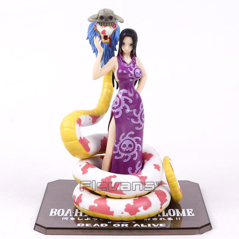 Anime One Piece Figuarts ZERO Boa Hancock with Snake PVC Figure Collectible Model Toy 18cm anime one piece boa hancock figure sexy limited edition collection model toys 23cm