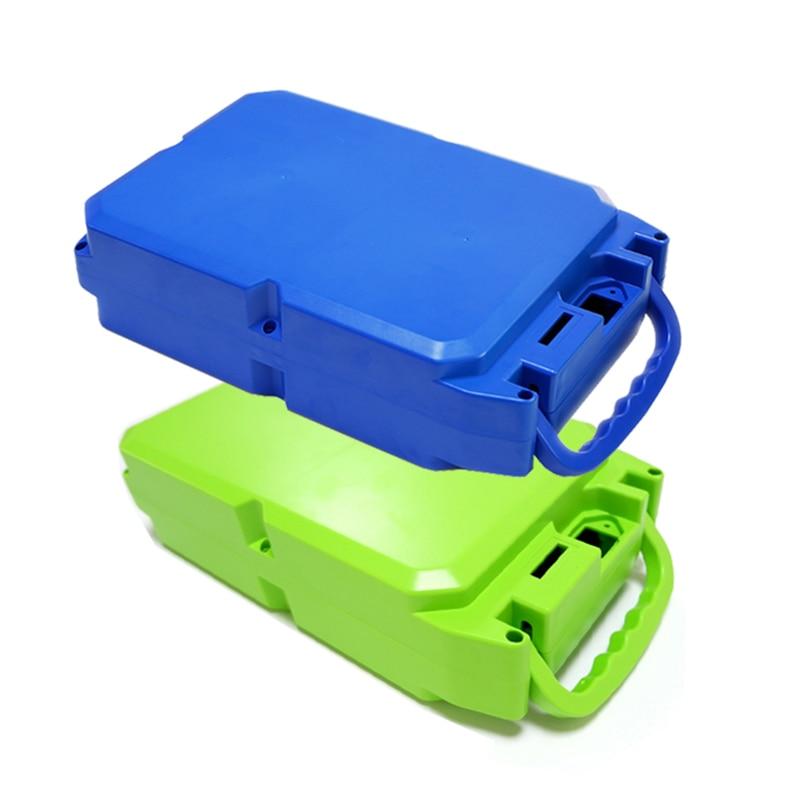 E-bike boîtier de batterie au Lithium pour 18650 batterie comprend un support et le nickel peut être placé 104 pièces cellules