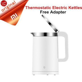 Original Xiaomi Mijia Thermostatic Electric Kettles 1.5L Control by Mobile Phone App 12 Hours Thermostat Smart  kettle Free Ship kettle