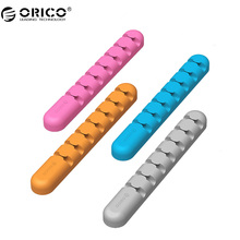 ORICO Cable Winder Earphone Cable Organizer Wire Storage Silicon Charger Cable Holder Clips for MP3 MP4