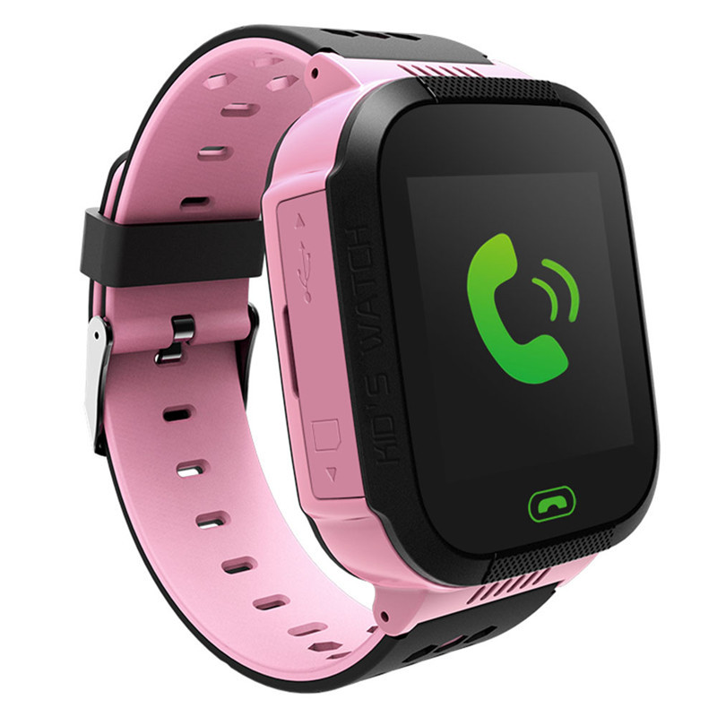 2017 Vente Chaude 1.44 HD à Écran Tactile Enfants Montre Smart Watch Android IOS Système Enfants Moblie Montre Téléphone avec lampe de Poche & caméra