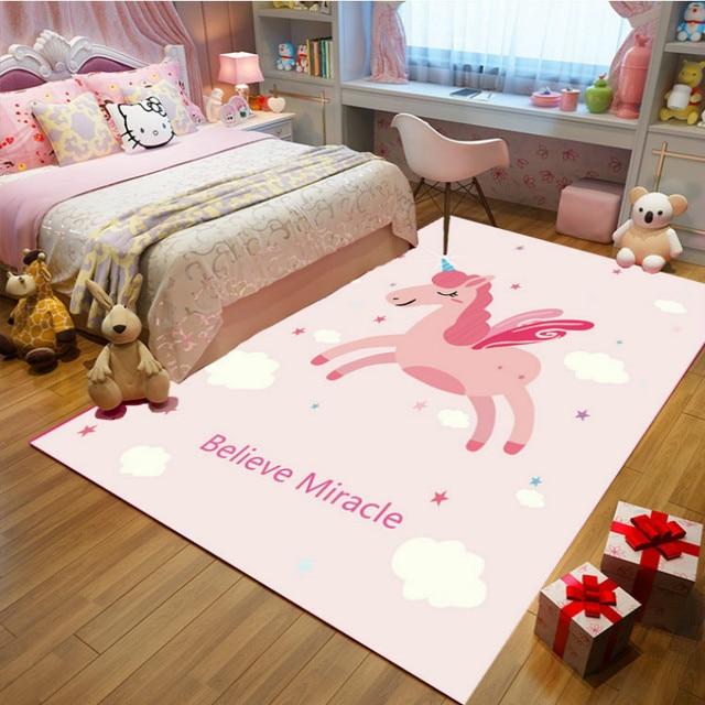 Unicorn Princess Pink Carpet