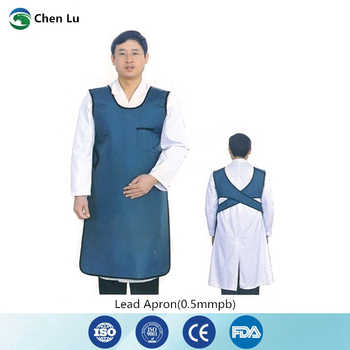 Hospital medical uses of ionizing radiation protection 0.5mmpb long apron gamma ray and x-ray protective lead clothing - DISCOUNT ITEM  0% OFF All Category