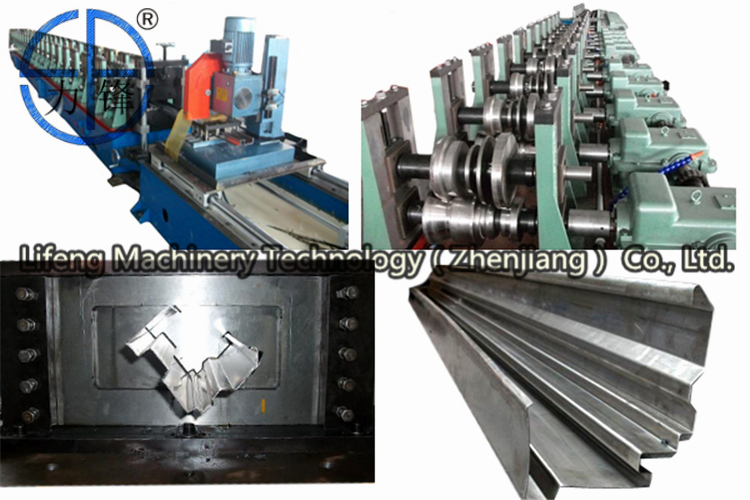 The door frame roll forming machine