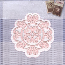 YaMinSanNiO Lace Flower Metal Cuttings Dies Die Cuts Scrapbooking Album Paper Card Craft Embossing