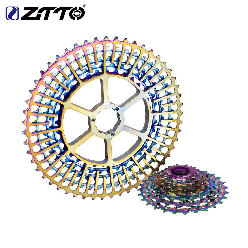 ZTTO 12S Rainbow Cassette 11-52T SLR2 MTB Mountain Freewheel For Shinnano HG Hub
