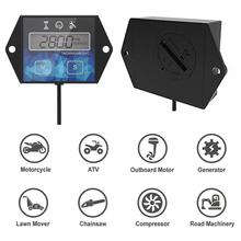 Tachometer Hour Meter Motorcycle Speed Timer ATV Speed Reset Timers For Small Gasoline Engines new timer control panel gauge hour meter 285 9075 for 320c 320d