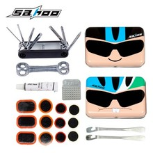 SAHOO Cartoon Bike Cycling Tool Kit Mini Box MTB Bicycle Tire Tyre Repair Tools