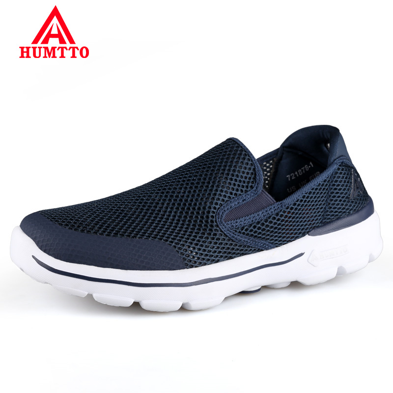 Hot Sale Brand Summer Men Designer Sneakers Breathable Mesh Male Casual Mens Shoes Slip on Anti-Odor Loafers Light Trainers Walking Shoes