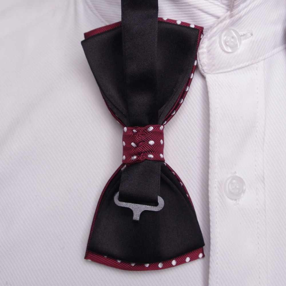 Noeud papillon hommes cravate formelle garçon hommes mode affaires mariage noeud papillon homme robe chemise krawatte legame cadeau