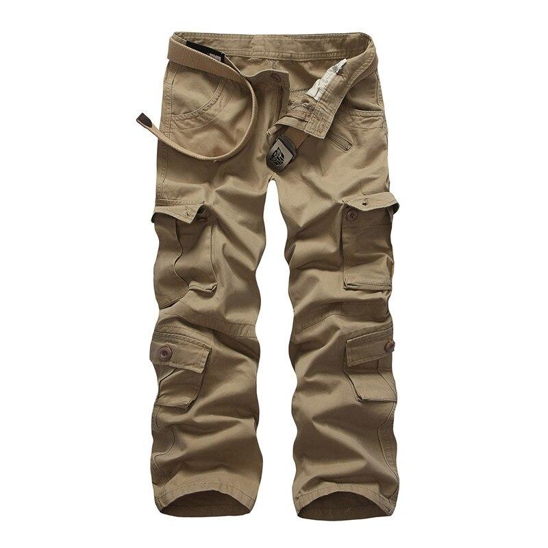 Heißer verkauf freies verschiffen männer cargo hosen camouflage hosen military hosen für mann 7 farben