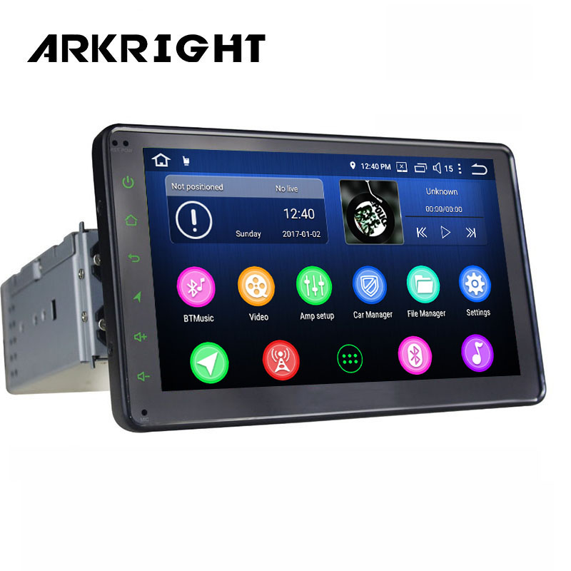 Hot 7 1Din 4GB+64GB PX5 Octa Core Video in/out Universal HD Car Radio GPS Navigation Wifi Head Unit Multimedia Player