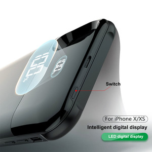 Image 5 - ZKFYS 5000mAh Wireless Charging Magnetic Battery Case For iPhone X XS Battery Charger Cases Backup Power Bank Charging Cover