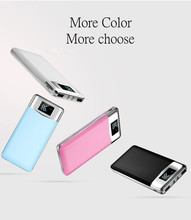 2017 NEW 20000mAh Power Bank for iPhone 2 USB Output Mobile Phone Portable Charger External Battery for Xiaomi Samsung Powerbank