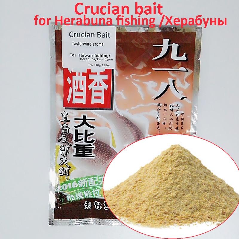 Toppory 110 g / Krepšys Vyno aromatas Crucian Carps Bait For Herabuna Žvejyba Taivanas Žvejyba Rankiniai Hera Žuvų tešlos kepimo priedai