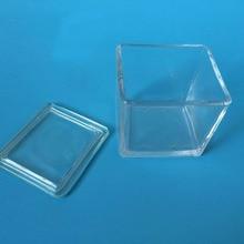 2 шт./партия Высококачественная стеклянная банка для окрашивания может вместить 30 шт. предметное стекло лабораторные Расходники