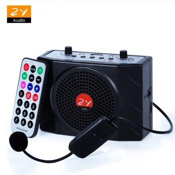 Zy de Audio E898 UHF megáfono MICRÓFONO INALÁMBRICO amplificador para guía maestro exterior altavoz disco de U de apoyo TF tarjeta