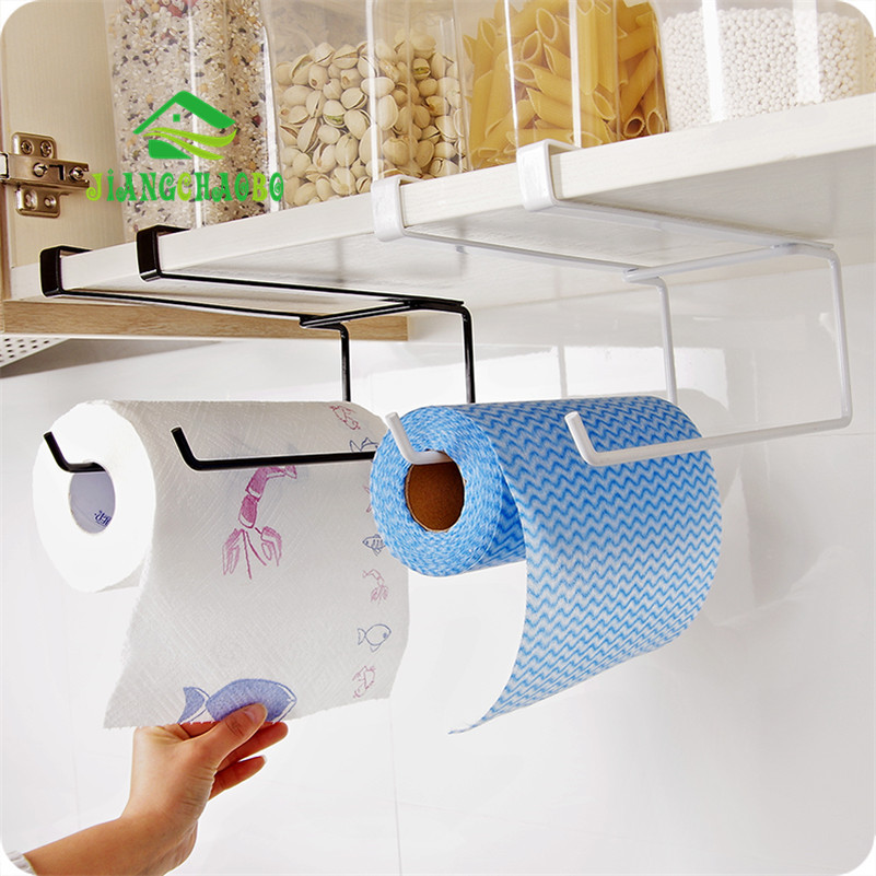 Kitchen Paper Hanger Sink Roll Towel Holder Organizer Rack
