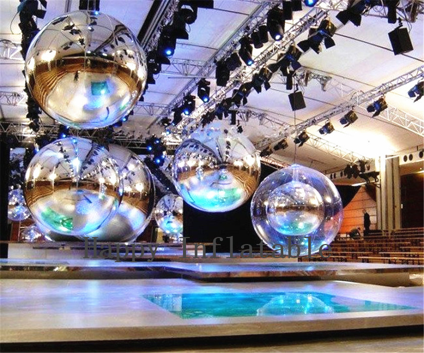 Inflatable Mirror Ball New Customized Wedding Ballons Hot Sale Inflatable Toys Decoration Balloons With Factory Price customized hot sale new wholesale factory price inflatable bubble tent for party camping