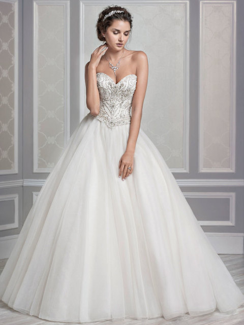 Wedding Dresses Los Angeles Ball Gown Flores Para Noivas Sweetheart ...