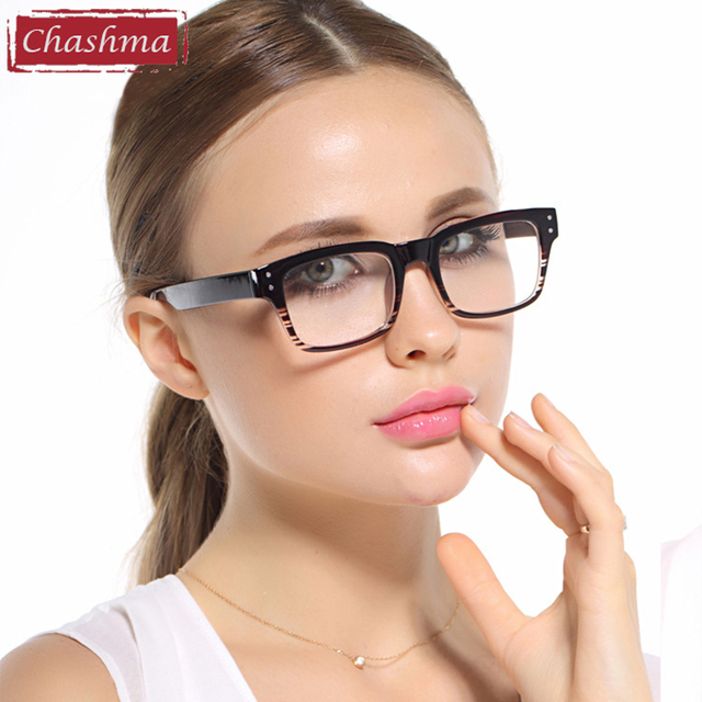 ecc6e73d79f Chashma Brand Black Glasses Frames Student Eye Glasses Frames Women Fashion  Trend Eyeglasses High Prescription Frames