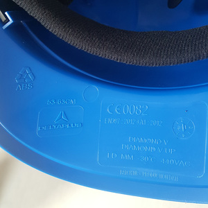 Image 5 - Casco di sicurezza Tappo di Lavoro ABS Materiale di Isolamento Con Riflettente Della Banda Cappello Duro Costruzione Sito Isolante Caschi di Protezione