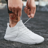 Men Shoes 2018 New Fashion Casual Students White Shoes Men Trend Breathable Canvas Shoes Zapatos Hombre Lace Up Men Sneakers
