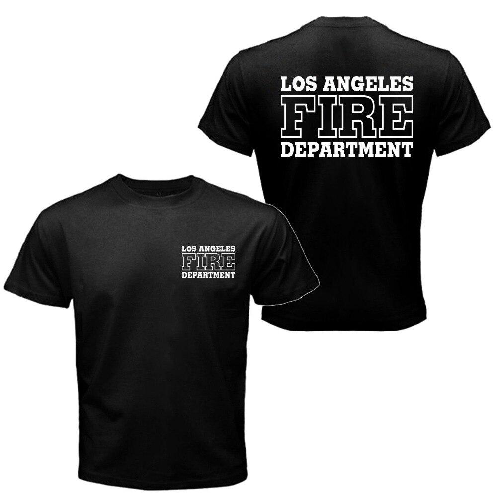Aliexpress Com Buy Los Angeles Fire Department T Shirt Men Search