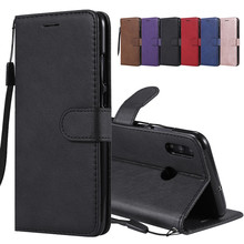 Huawei Honor 10 Lite чехол кожаный бумажник откидная крышка huawei Honor 10 Lite чехол для телефона для huawei P smart чехол