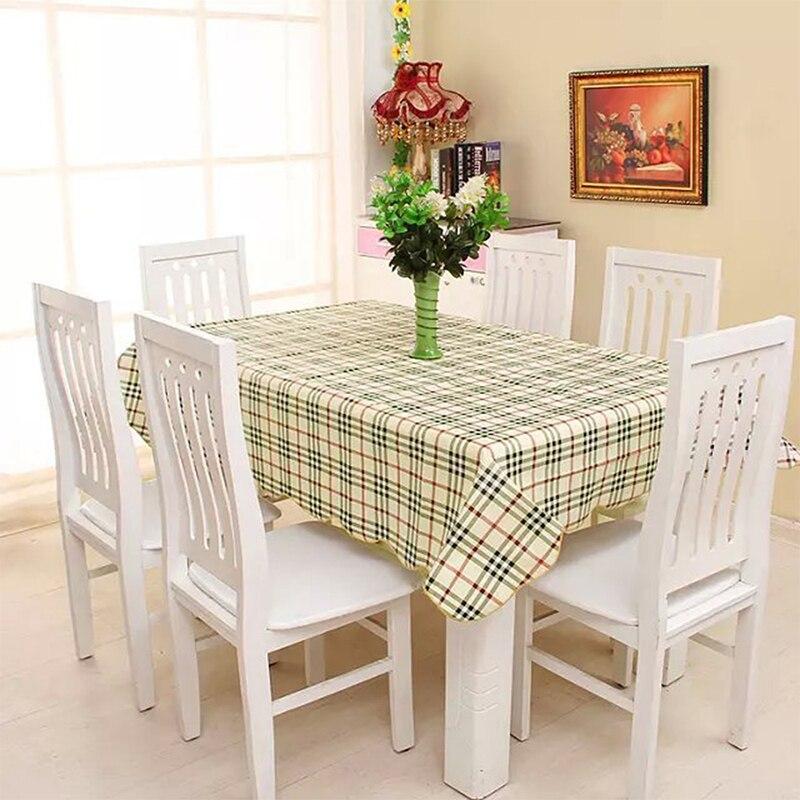 Waterproof & Oilproof Wipe Clean PVC Vinyl Tablecloth