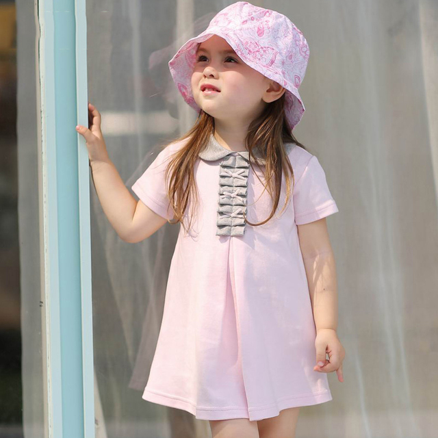 d89b27b662022 2016 Latest Fashion Cute Design Baby Girls Summer Dress Infant Clothes New  Born Baby Princess Party Dress Christening Clothes