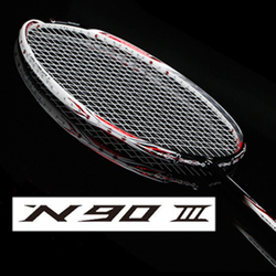 Badminton Racket Light Carbon Badminton Racquet +  string N90 N99
