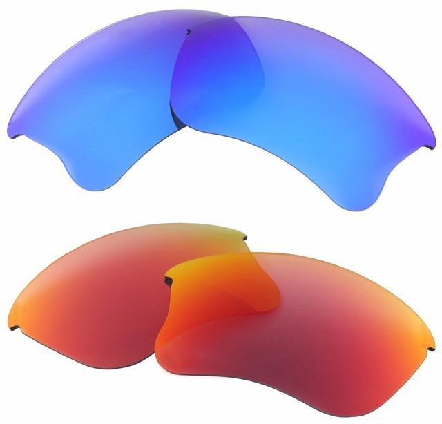 0cc01b4f43 Inew polarizado lentes de reemplazo para FLAK JACKET XLJ hielo y rojo