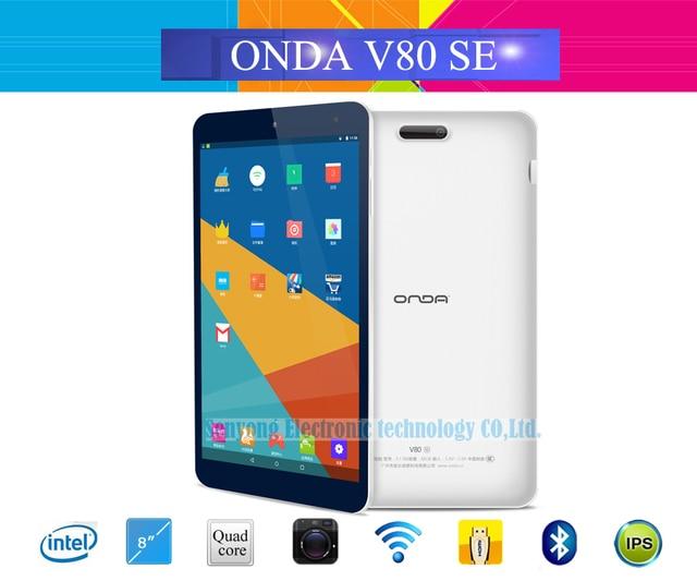 New Arrival 8 inch IPS Onda V80 SE Android 5.1 Tablet PC 1920*1200 Intel Z3735F Quad Core WiFi Bluetooth Camera 2GB RAM 32GB ROM