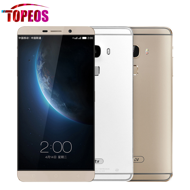 Original LeEco Letv Le Max X900 Mobile Cell Phone 6.33inch Snapdragon 810 Octa Core 4GB RAM 128GB ROM 2560*1440piexl 21MP 4G LTE