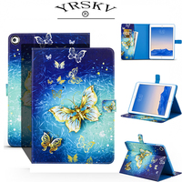 Case For 2017 IPad 9 7 Beautiful Pattern Interior Design With A Card Slot To Send