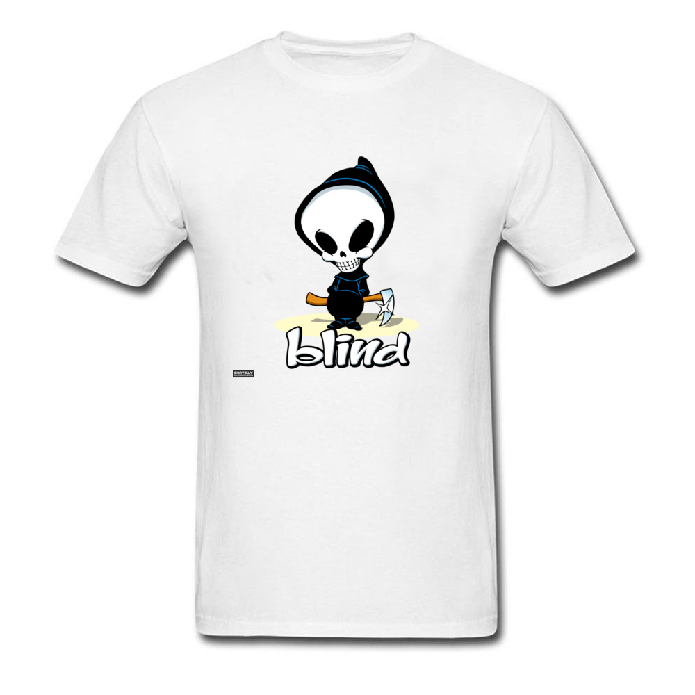 2018 Awesome Tshirt Mens Blind Ghost Skateboards T Shirt Cool Design Gift Top T-Shirts Popular Tops & Tees Formal Sweatshirt