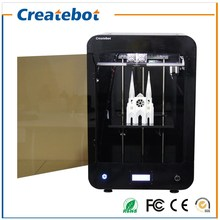 Createbot Max 3D Printer kit FDM LCD Screen Single Extruder 3d printer with 1 roll Filaments 8GB SD Card