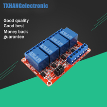 Big sale High Low Level Trigger 5V 4-Channel Relay Module with Optocoupler for arduino