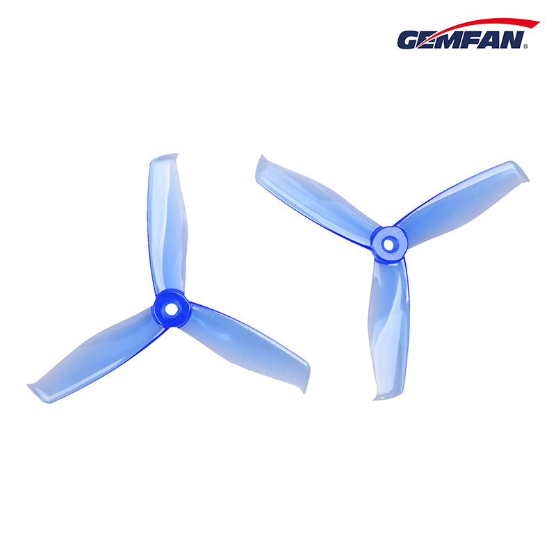 4Pair/8PCS Gemfan 3 Blade <font><b>5055</b></font> Propeller Props for Mini Multicopter Mini <font><b>5055</b></font> Helicopter Quadcopter FPV QAV250 250 image