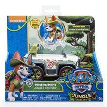 Paw patrol toys set Tracking dog action figure /anime paw everest patrulla canina rescue car toy Genuine