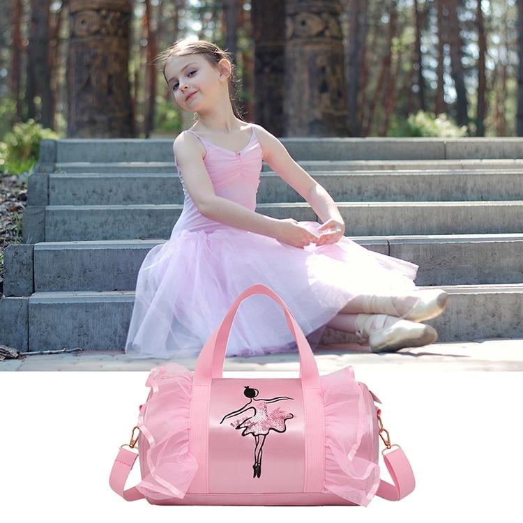 Bag Handbag Lace-Bags Gymnastic Ballet Crossbody-Cavans Dance Yoga Girl Sports Womens