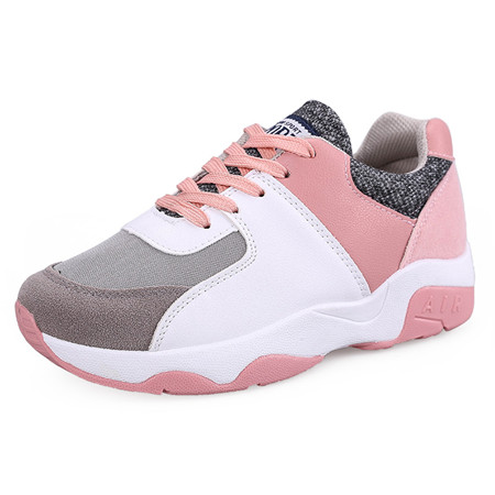 New 2016 fashion patchwork casual shoes woman autumn/winter 4 colors women trainers outdoor footwear cotton ladies flat shoes
